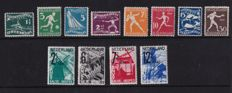 The Netherlands 1928/1932 - Olympiad and A.N.V.V. - NVPH 212/219 + 244/247