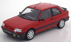 Norev - Scale 1/18 - Peugeot 309 GTi 1987 - Colour Red