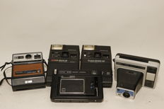 Lot van 5 Kodak Instant camera's