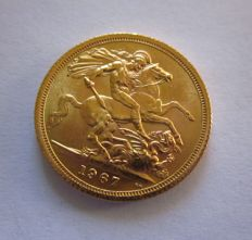 Great Britain - Sovereign 1967 - Elizabeth II - gold