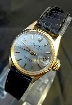 Rolex Oyster Perpetual Datejust Lady 18 Kt Solid Yellow Gold