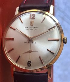 Festina - Incabloc - Men's - 1960-1969
