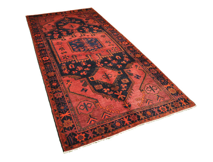 Hand-knotted Persian carpet - Lori made by nomads - approx. 324 x 156 cm - Iran