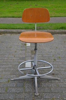 Friso Kramer for Ahrend de Cirkel - Work stool with footrest