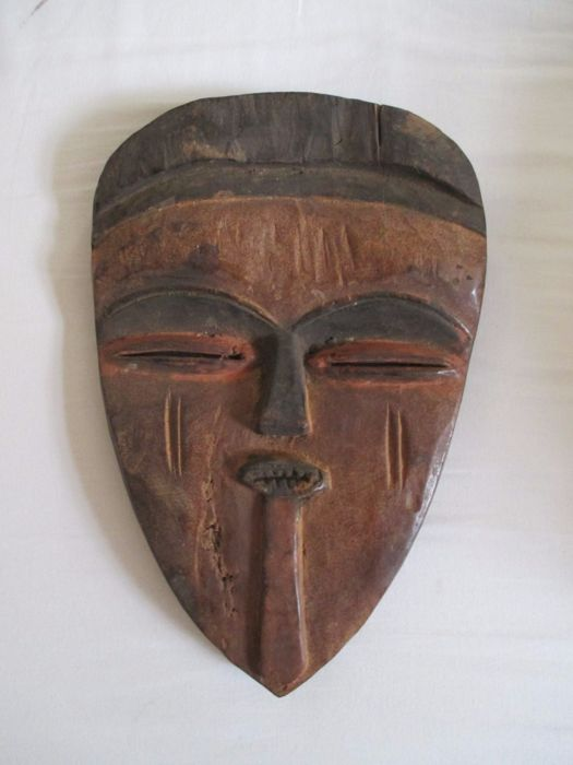 Beautiful Vuvi / Tsogo mask - Gabon