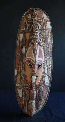 Men's Cult House Gable Mask from ANGRORAM PNG