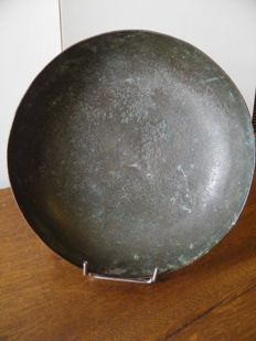 Large bowl in bronze - diameter 205 mm