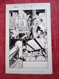 Original Art Page By Mark Bagley - Marvel Comics - Thunderbolts #0 - Page 16 - (1998)