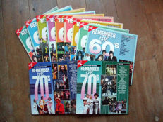 Remember the 60's complete collection of 9 vinyl albums in top condition + Remember The 70's Vol 1 and Vol 4.