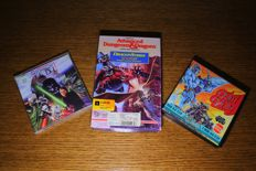 Commodore 64 games Star Wars, Dungeons and dragons and Blood Valley