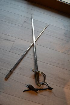 French regulatory sabre 1882