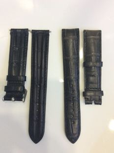 Omega wristwatch straps - 2 pairs (NEW, never worn)