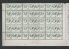 The Netherlands 1852/1946 - Collection in Davo album + sheet parts