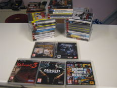 30 PS3 games, like: GTA V,God of war 1+2, Call of duty black ops,Yakuza 3,Tour de france,Killzone 2,Devil may cry,Eyepet 1+2,etc,etc
