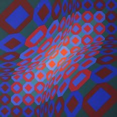 Victor Vasarely - Optical