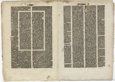 Koberger Bible Nürnberg 1493