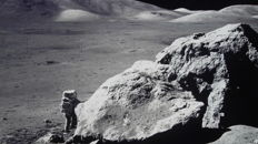 Walking on the Moon and in space