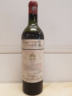 1950 Chateau Mouton Rothschild - Pauillac 2ème Grand Cru Classé - 1 bottle