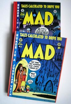 MAD - Volumes 1 & 2 - x2 Hardcover - Humor In A Jugular Vein - Tales Calculated To Drive You MAD