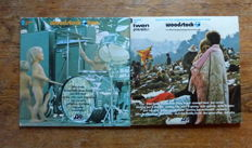 "Woodstock one and Woodstock two -  ""Three days of peace and Music"" - 5 live records"