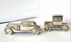 Silver plated auto money boxes