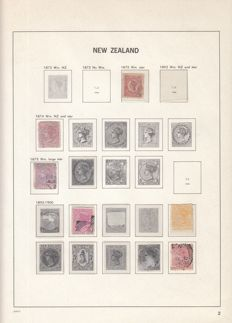 New Zealand 1875/1981 - Collection in Davo album