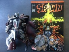 3x Spawn Action Figures McFarlane Toys + Spawn Issues #37 And 46