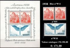 Swiss 1936#1965. Pro Patria Stamps and Blocks. SBK no. B3 to B55 and W2 to W43 except no. B46 and W29 to 32;