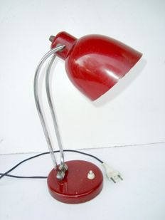 Unknown designer - Table lamp in chrome-plated steel