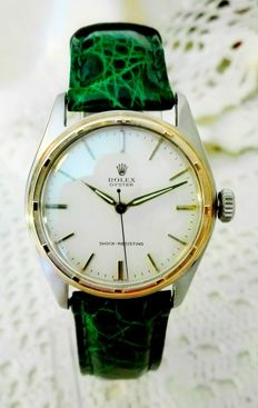 Rolex Rare Two Tons Oyster 6082 Vintage 1950