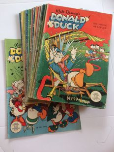 Donald Duck Weekblad - 200 issues - sc - 1st edition (1956/1986)
