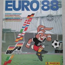 Panini - Euro 1988 West-Germany- Complete album.