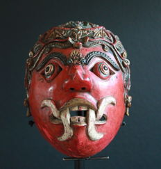 Topeng Mask - East Java - 2nd part of 20th century