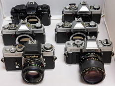 6 Minolta SLRs for the handy repairman