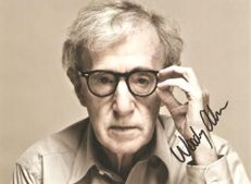 Woody Allen - signed photo - 11x15cm - original signed photo by Woody Allen - Certified by PSA/DNA