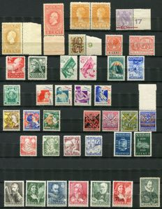 The Netherlands 1913/1940 - Composition between NVPH 91 and 355
