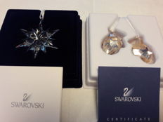 Swarovski ornaments a little star 1092038 - mittens ornament twinkling-mittens 1006038