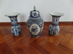Delfts blauw kaststel made for Royal Sphinx Holland by Boch Belgium