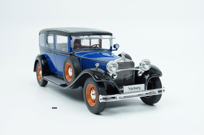 "Model Car Group - Scale 1/18 - Mercedes-Benz 460k Type ""Neurenberg"" (W08) - Blue"