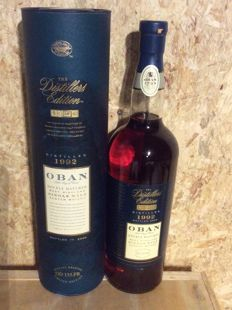 Oban Single Scotch Malt - Distillers Edition 1992