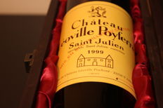1999 Chateau Leoville Poyferre, Saint-Julien Grand Cru Classé, France - 1 bottle 750 ml