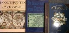 Reference works; 3 editions about cartography - 20th century