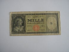 Italy - Lot of 21 banknotes of the Italian Republic