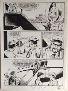Di Vitto, Domenico - 4x original pages - Mister No n. 236 (1995)