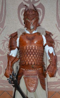 Dragon's leather outfit