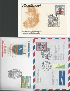Austria 1960-2000 - first day covers and special cancellation