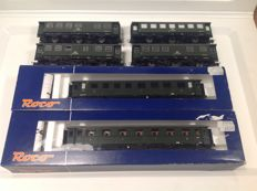 Roco H0 - 45495 a.o. - 6 Various passenger carriages of the DB