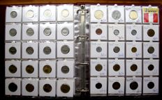 Argentina and Peru - Batch of various coins 1909/1995 (167 different coins) in album