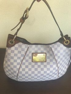 Louis Vuitton - Galliera PM  Damier Azur - Coated canvas Crossbody tas