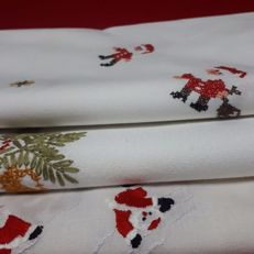 3 Christmas placemats Italy